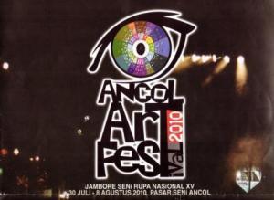 Poster Ancol Art Festival 2010/ Jambore Seni Rupa Nasional XV