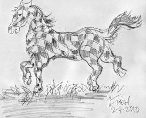 Kuda Partai Catur