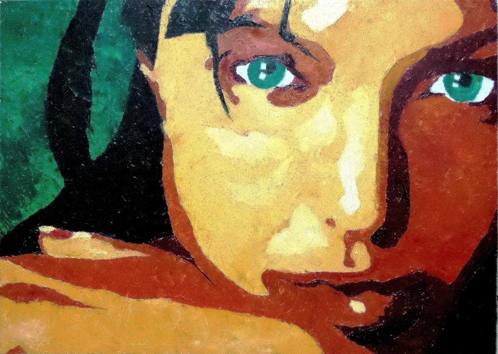 64+ Gambar Abstrak Wajah Wanita Paling Hist